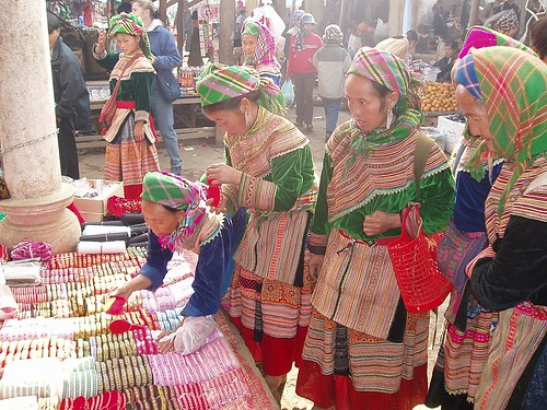 Hmong women at market | by thriol
