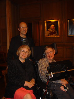 Frank, Lord Coke, Betsy, Stephen Hawking | by betsythedevine