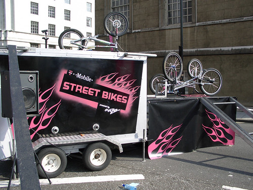 T-Mobile Street Bikes Stand | by currybet