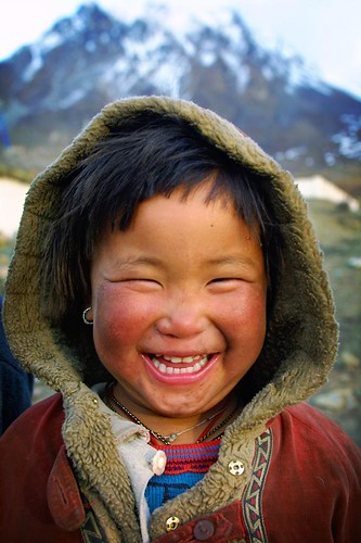 smile in mountain | by phitar