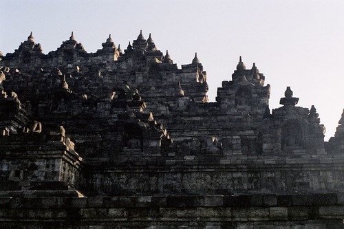 Borobodur Monument at Sunrise | by Kyle Norman Horner