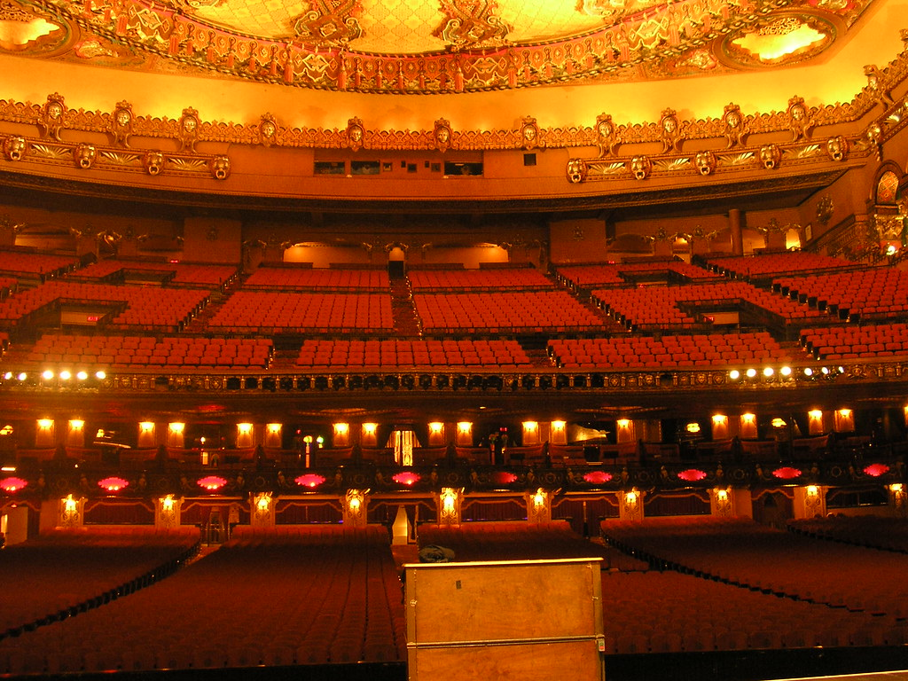 Auditorium Seating from Stage | The lovely Fox Theater, Detr… | Flickr