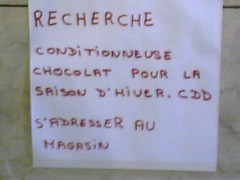 Choco-Job | by clotilde