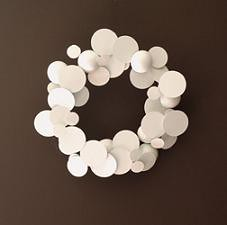 250modwhitewreath | by designsponge