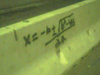 Quadratic Formula Graffiti Quadratic Formula Graf...