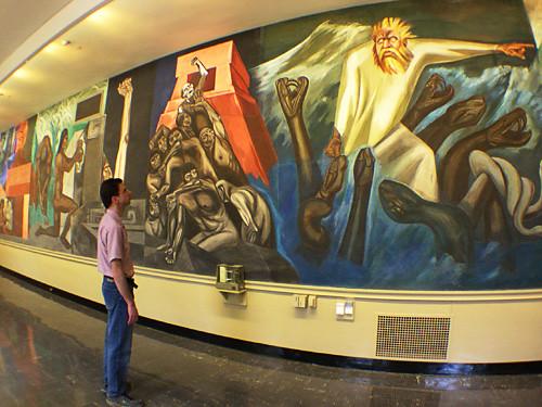 Orozcomural orozco mural baker library dartmouth for Dartmouth mural