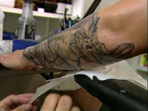 Wentworth Miller Prison Break Tattoo Application