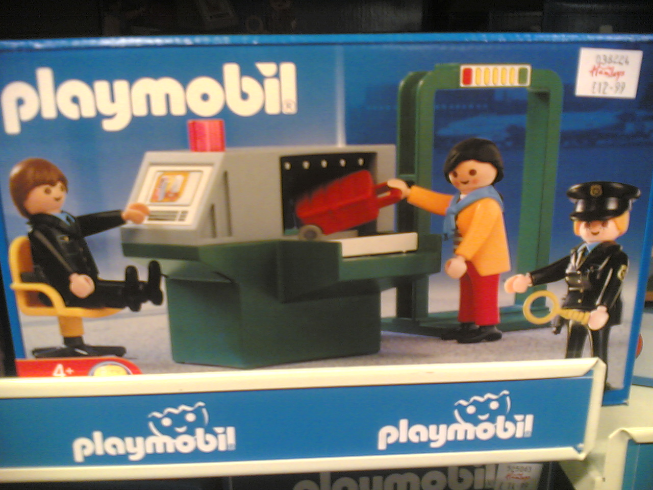 Airport Security Playmobil
