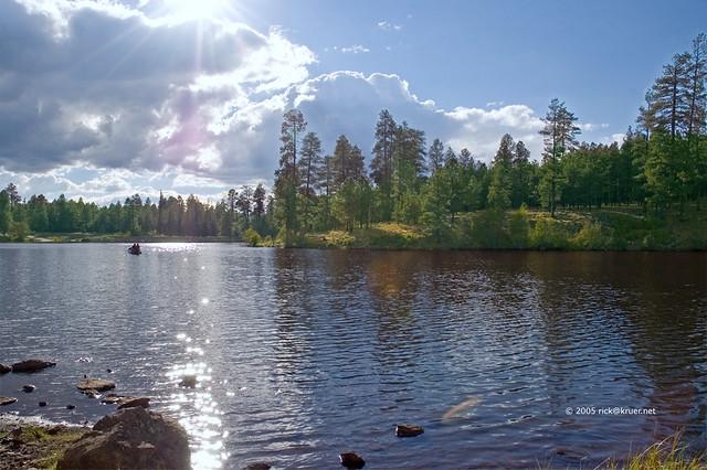 Little Bear Lake Pinetop Arizona Taken In Pinetop