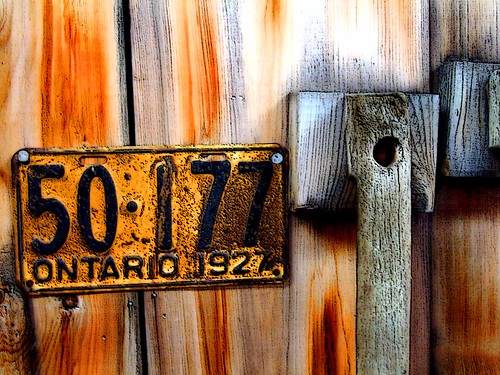 1927 Ontario Plate | by 4BlueEyes Pete Williamson