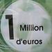 One million euros