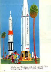 This is Cape Canaveral: missiles | by wardomatic