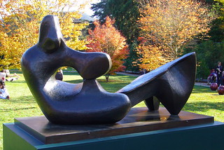 Two Piece Reclining Figure No. 9 | by Eric Hunt.