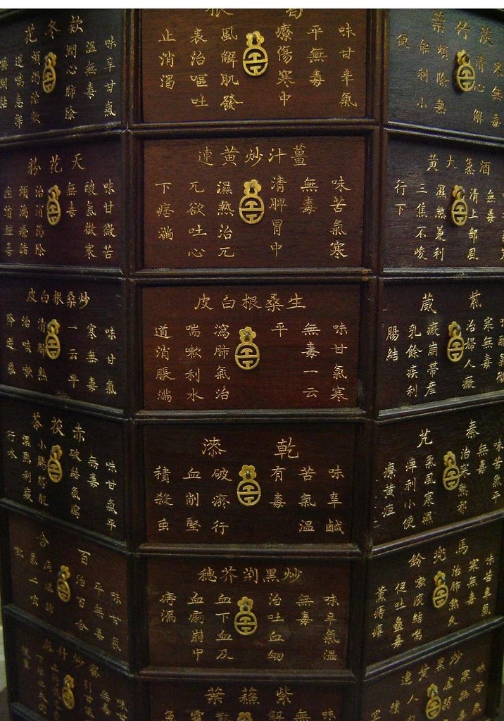 Chinese Medicine Cabinet | By Maggieu0027s World .
