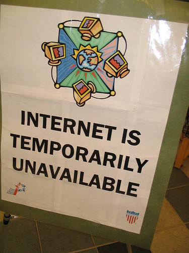 Internet is Temporarily Unavailable | by Leia