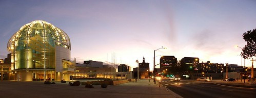 City Hall rotunda and Downtown skyline, November 12, 2005 | by /\/\ichael Patric|{