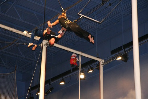 Trapeze School New York Beantown at Jordan's Furniture | by StarrGazr