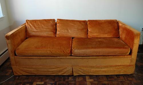 Vintage Castro Conv Couch Vintage Castro Convertible