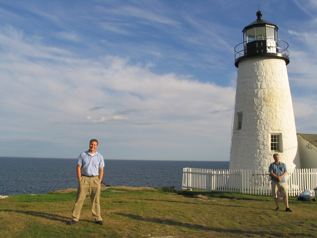 Ken Pemaquid Point Light Bristol Maine The Pemaquid