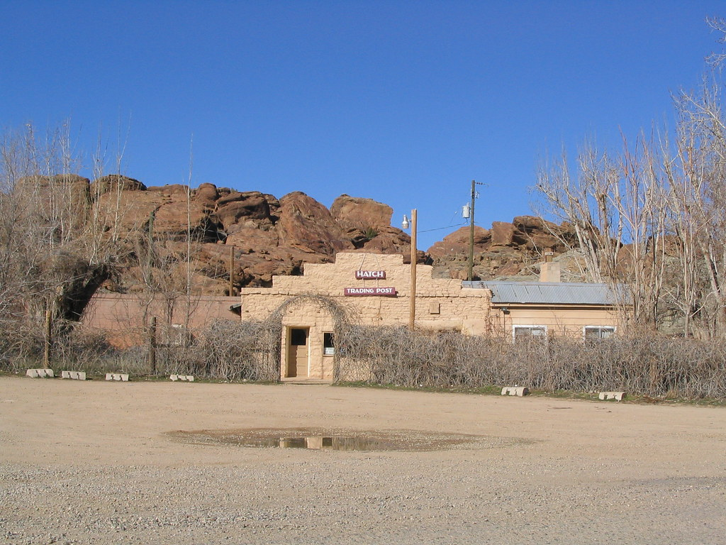 Hatch Trading Post Navajo Nation Near Hovenweep National
