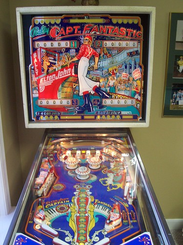 Capt. Fantastic pinball machine | My in-law's 1976 Bally ...