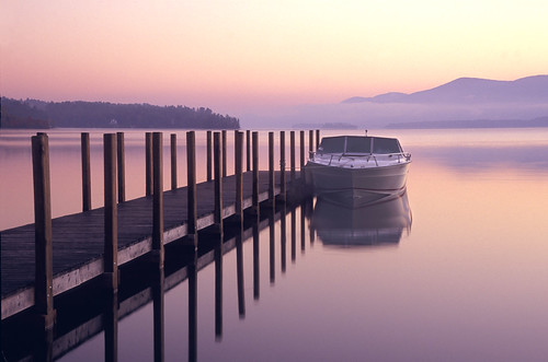Boat on Lake George | by kathyv
