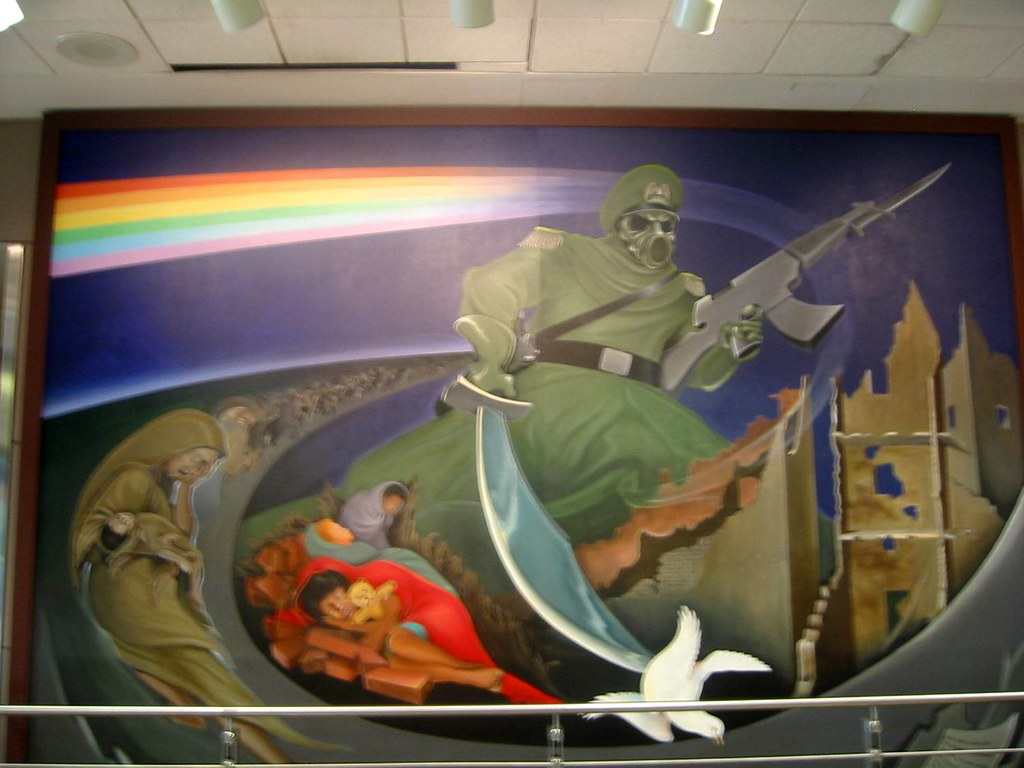 Mural denver airport denver colorado mural denver for Mural in denver airport
