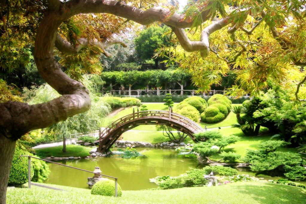 Japanese Garden In Huntington Gardens Huntington Gardens