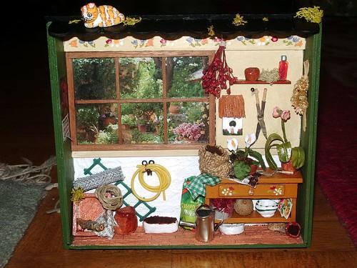 Mini cobertizo de primavera cuarto de herramientas y for Cobertizo de herramientas