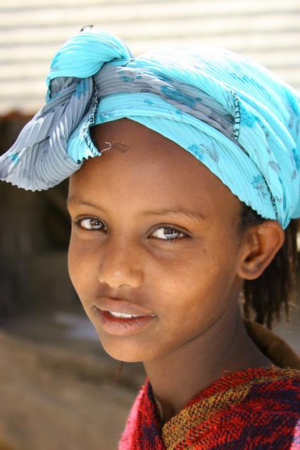 Eritrea Girl Smile  Very Nice Girl From Eritrea She Was -8340