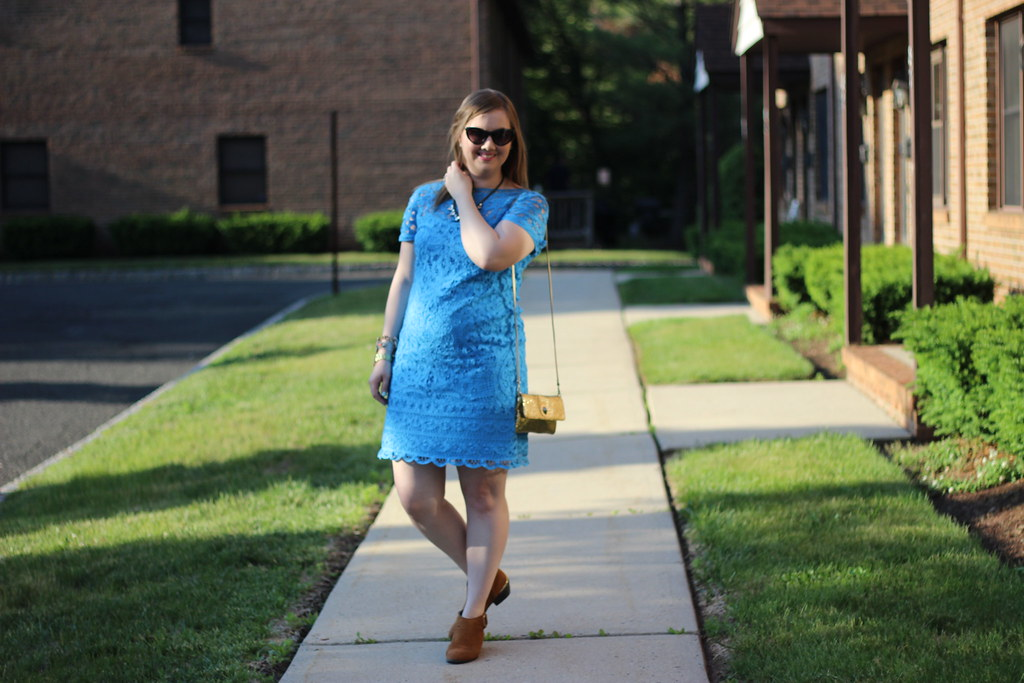 Lilly Blue Lace Dress (3)