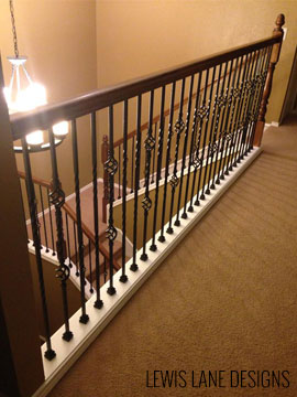 Staircase Remodel by Lewis Lane