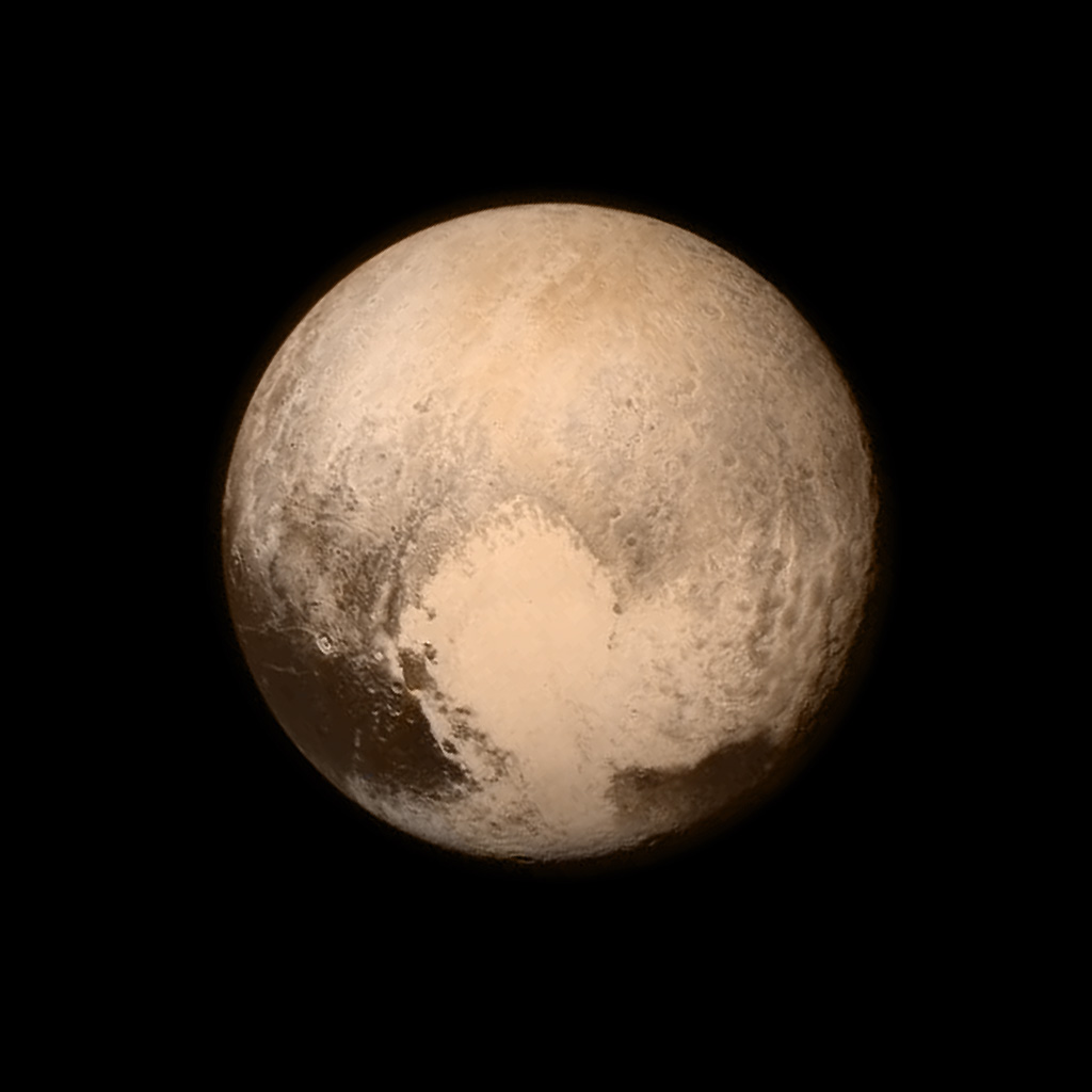Pluto: Spectacular New Image from NASA, July 2015
