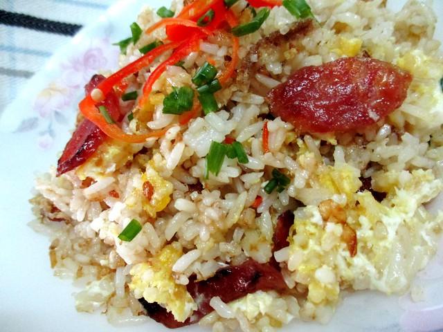 Lap cheong fried rice with Tamari sauce 2