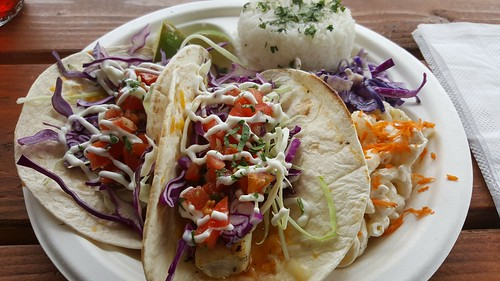 fish taco food cart portland