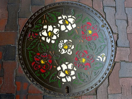 Kamo Nigata, manhole cover (新潟県加茂市のマンホール)