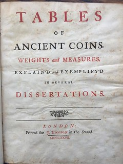 Arbuthnot Tables of Ancient coins