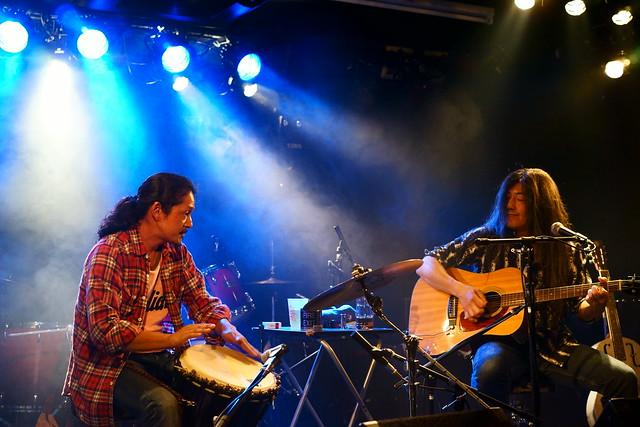 100 FEET live at 獅子王, Tokyo, 10 Jun 2015. 014