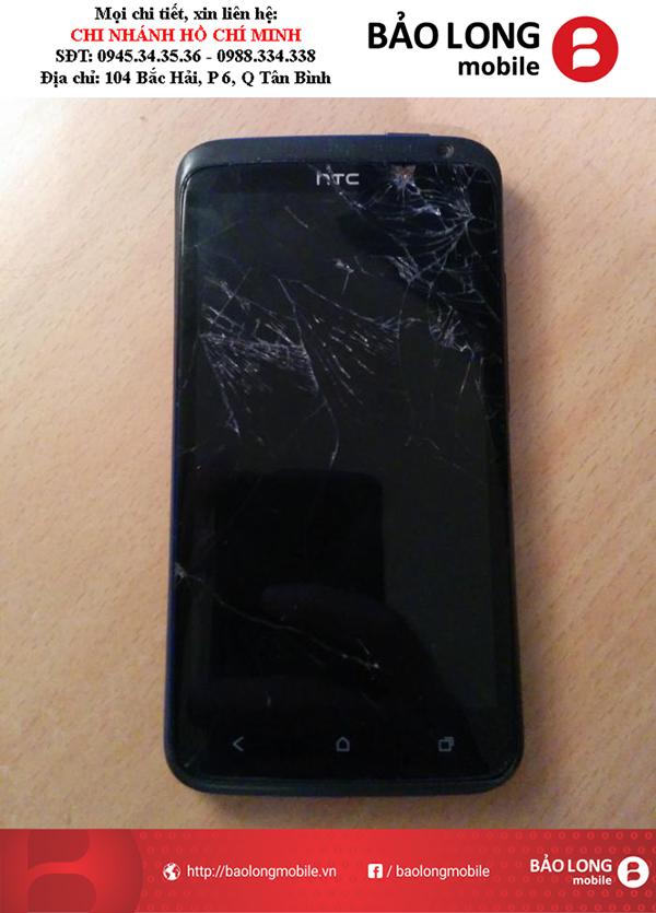 Cho hỏi trung tâm chính hãng giá rẻ để thay màn hình HTC One X ở HCM