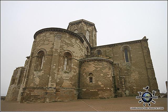 Girola de la Catedral de Lleida, Cataluña. España.