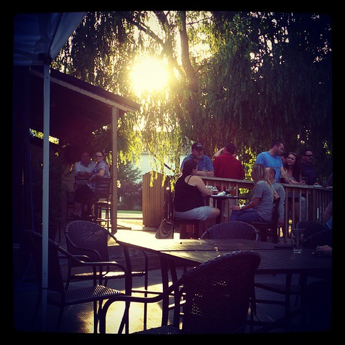 #MtCarmelBrewery has a pretty amazing patio!