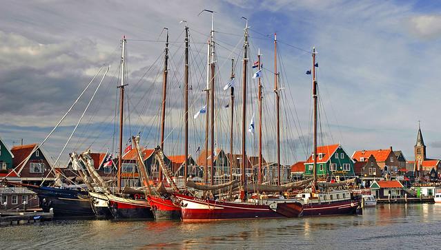 VOLENDAM, NETHERLANDS.