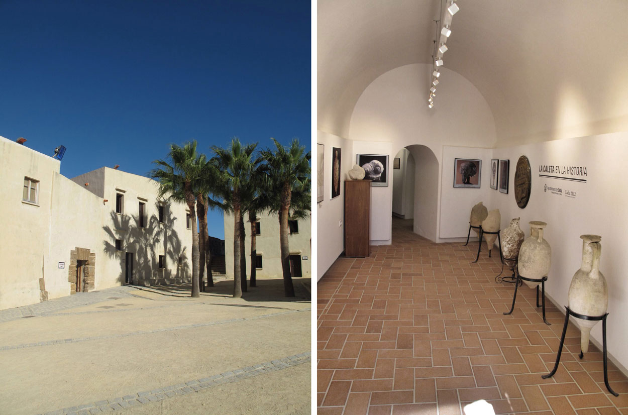 castillo santa catalina_cadiz_polvorin_la caleta__rehabilitacion_exposiciones