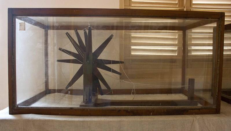 Speening Wheel of Mahatma Gandhi - Hyderi Manzil or Gandhi Bhawan - Kolkata, India