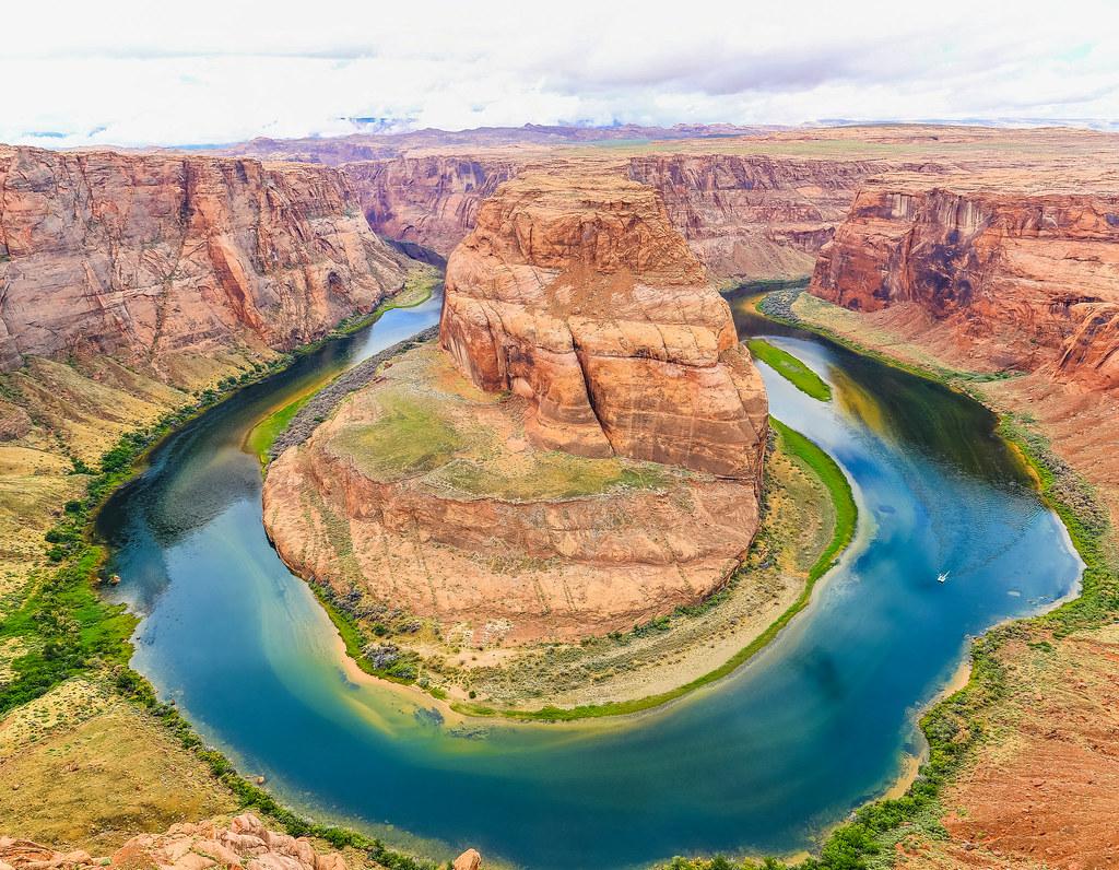 horseshoe bend arizona usa one off the most photographed