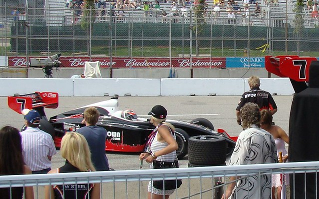 James Hinchcliffe Indy Lights Car 2009 Honda Indy Toronto