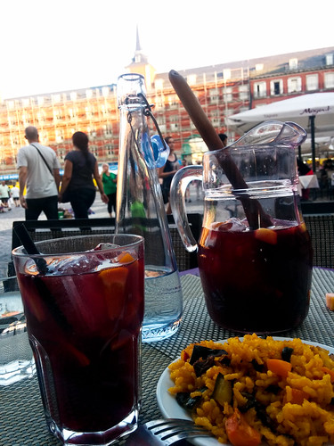 Sangria at Plaza Mayor