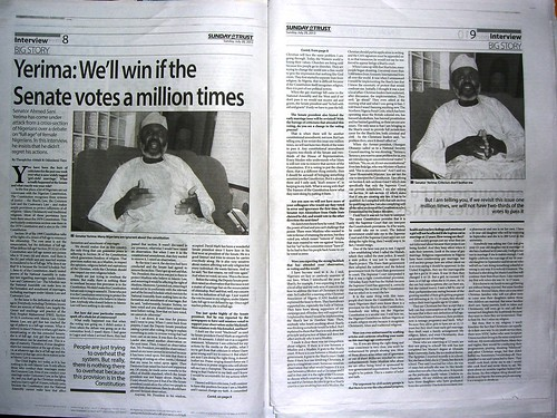 """Yerima: We'll win if the Senate votes a million times"" 