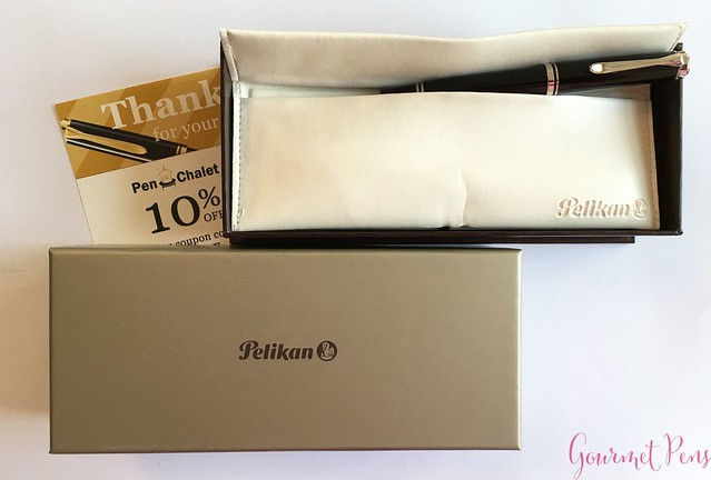 Review Pelikan Souveran M405 Fountain Pen - Fine @PenChalet 1