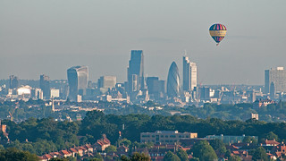 Hot Air Balloon over London | by bvi4092